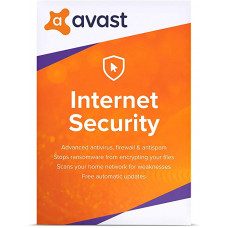 AVAST Internet Security 2021 (2 YEAR / 1 PC) license
