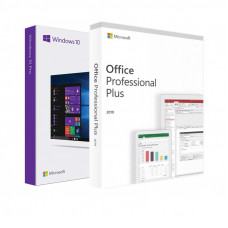 Windows 10 Pro + Office 2019 ProPlus