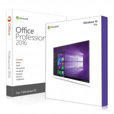 Windows 10 Professional and Office 2016